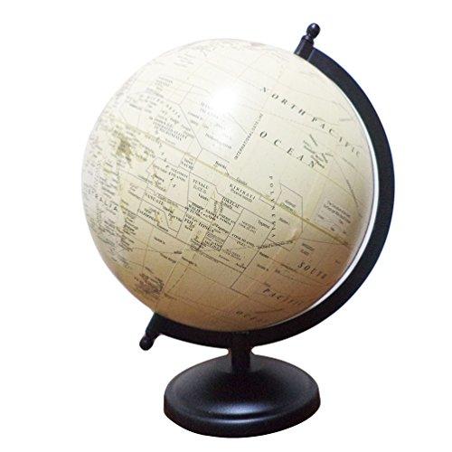 Desktop drehbar World Globe beige Ocean Stationäre politischen Earth Globe Tisch Decor Geograph