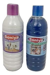 Soniya Liquid Detergent + Soniya Milky White Cleaner