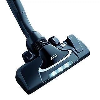 AEG AZE 141 Precision flow Kombi Bodendüse mit LED-Frontlicht für 36mm Ovalrohr, UltraOne, UltraSilencer,  UOgreen, USgreen, UFgreen, VX8-, VX8-2-, VX9-öko, VX9-2-, LX8-, LX8-2-, LX9