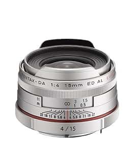 Pentax 21480 HD DA Objectif 15 mm f/4.0 Argent
