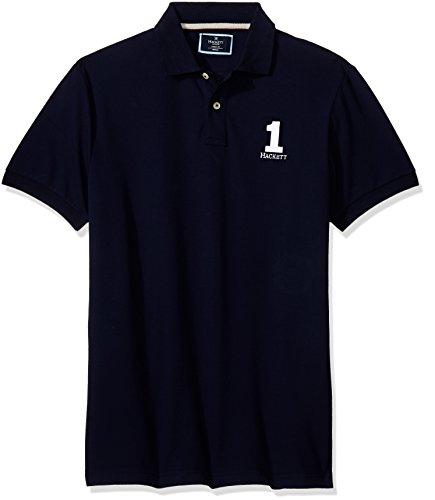 HACKETT LONDON Herren Poloshirt New Classic Blau (Navy)