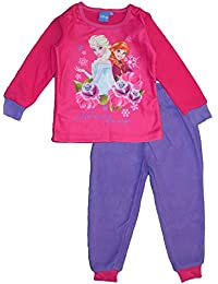 Disney Frozen Anna Elsa Winter Polar Fleece Pyjama Set