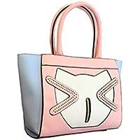 Wewod Fashion Borsa a mano donna Cartoon Cute Hobo Bag