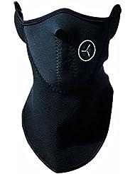 Oeste máscara de ciclismo mtb bicicleta de carretera resistente al viento máscaras bicicleta Protector Ciclismo velo moto para otoño e invierno deportes esquí snowboard vienen con un West Bike Llaveros, Infantil mujer hombre, negro