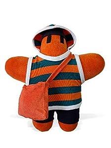 FRAGENHELDEN 167014 - Muñeca de Peluche, Color Naranja