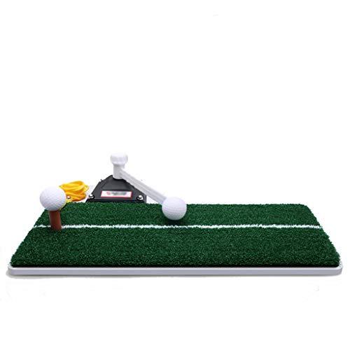 LOVEPET Multifunktion Golf, Das Matten Setzt Kleiner Indoor-Golf Trainingsausrüstung Swing-Trainer Nylonrasen 48X23cm White 15cm