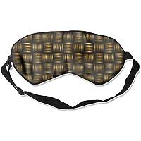 Sleep Eye Mask Basket Weave Lightweight Soft Blindfold Adjustable Head Strap Eyeshade Travel Eyepatch E13 preisvergleich bei billige-tabletten.eu