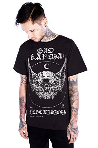 Disturbia Clothing -  T-shirt - Uomo nero Large