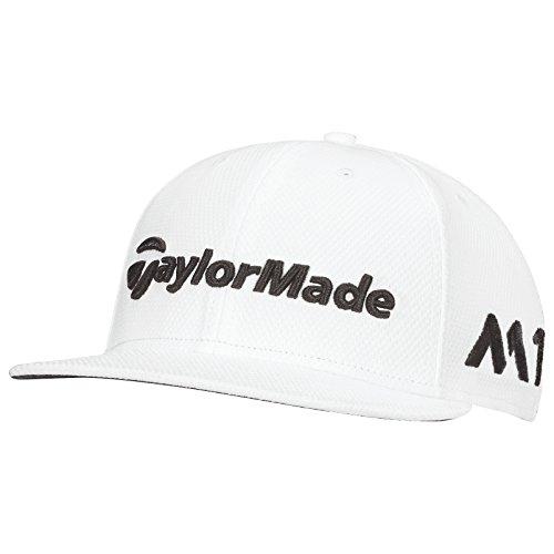 Taylor Made 2017Tour di New Era 9Fifty P5piatto Bill Cappello Uomo strutturato hysterese Golf Cap, bianco, Taglia unica