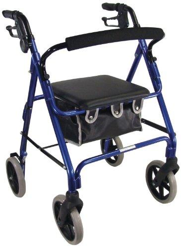 Aidapt VP177 Rollator Aluminium blau