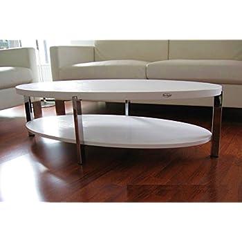 Carl Svensson Design Couchtisch O 111 Wei