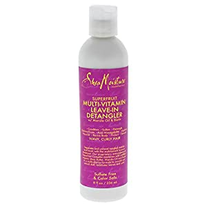 Shea Moisture Super Fruit 10-in-1 Renewal Leave in Detangler, 8 oz