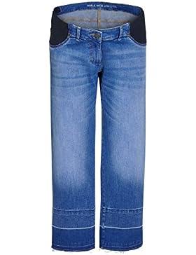 next Donna Jeans Premaman Con Orlo Grezzo Ampio Reg/Long