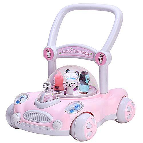 ate Baby Anti-Roll-Trolley Verstellbarer Lift Child Walker Baby-Spielzeug für Jungen und Mädchen ()