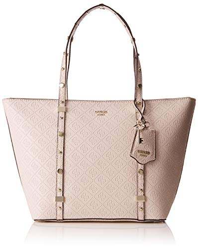 Guess - Coast To Coast, Bolsos totes Mujer, Gris (Stone/Sto), 46x28x12.5 cm...