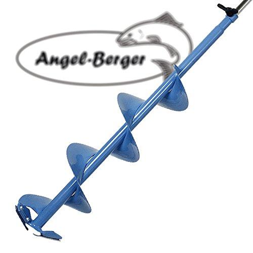 Angel Berger Höhenverstellbarer Eisbohrer 15cm zum Eisangeln - 3