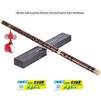 ammoon Professionale Flauto Tedesco Alto 8 Chiave Foro di G Strumento a Fiato Musicale con pulizia Rod sacchetto di trasporto