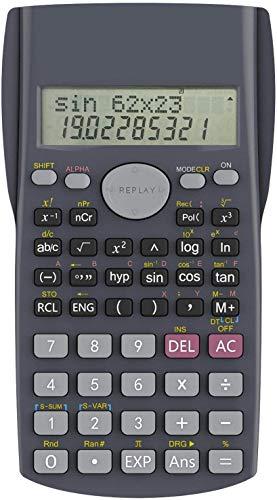 Protokart Battery Powered 2 Line LCD Display Business SAT/AP Test Engineering Scientific Calculator