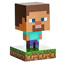 Paladone Minecraft Steve Icon Light Collectible Figure
