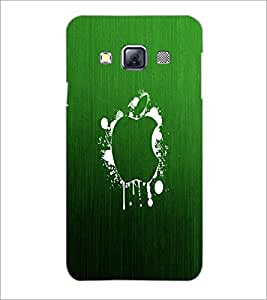PrintDhaba Apple D-2249 Back Case Cover for SAMSUNG GALAXY A3 (Multi-Coloured)