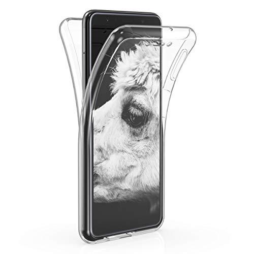 kwmobile Samsung Galaxy A7 (2018) Hülle - Silikon Komplettschutz Handy Cover Case Schutzhülle für Samsung Galaxy A7 (2018)