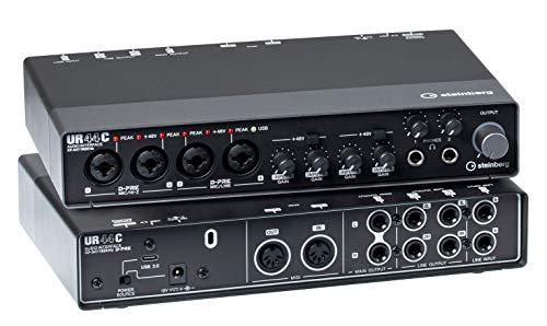 Steinberg UR44C EU - USB 3 Audio Interface incl MIDI I/O & iPad connectivity