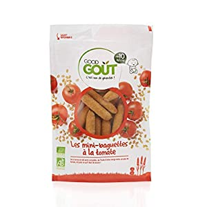 Good Goût - BIO - Mini Baguettes à la Tomate Dès 10 Mois 70 g