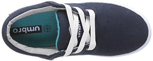 Umbro Long Sight Cvs, Baskets mode garçon Bleu (422-Marine/Blanc)