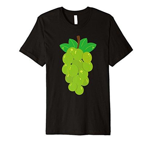 Grün Trauben Kostüm T-Shirt VINE Aufhängen Fruit Vineyard