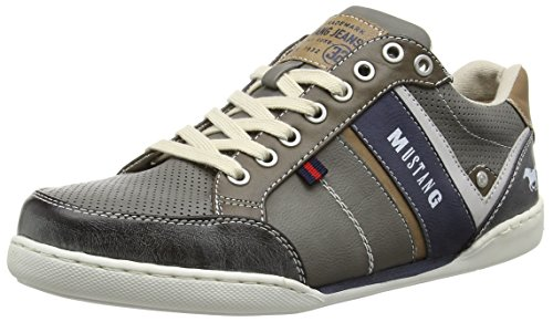 Mustang 4099-304, Baskets Basses homme Gris - Gris (2)