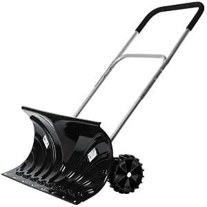 Jago Snow Shovel with Wheels / Height Adjustable Handle