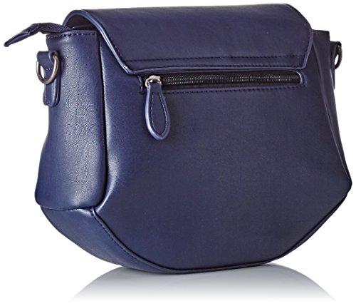 Le Temps des Cerises Damen Phoebe 4 Brieftasche, 25 x 22 x 8 cm Blau (Bleu Nuit)