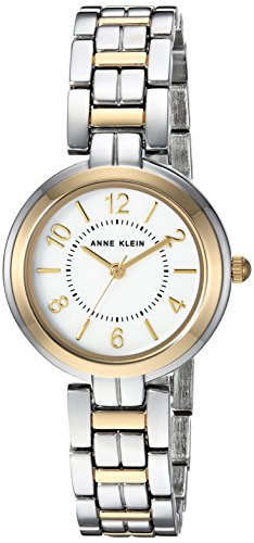 Anne Klein Women's AK-3071MPTT Silver Metal Quartz Fashion Watch
