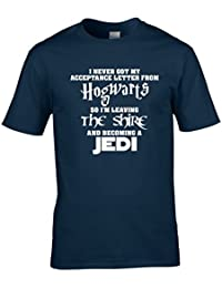 Naughtees clothing - Hogwarts Lord of the Rings Jedi T-shirt