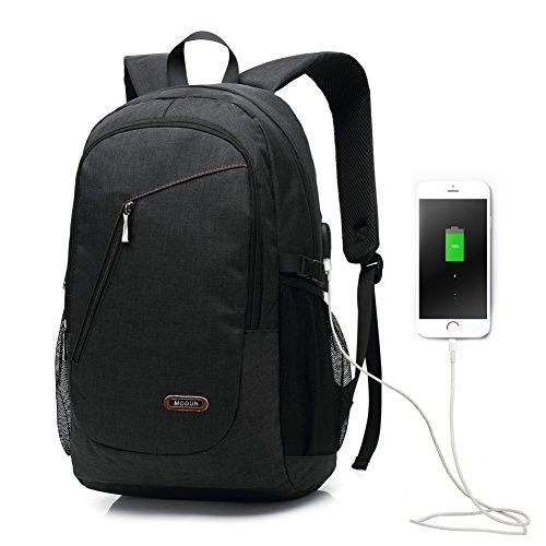 156-pulgadas-USB-de-trabajo-mochila-mochila-de-negocios-mochila-de-ordenador-porttil-para-hombres-y-mujeres-negro-peso-ligero-resistente-al-agua-hombro-bolsa-casual-para-la-escuela-el-trabajo-viajes-U