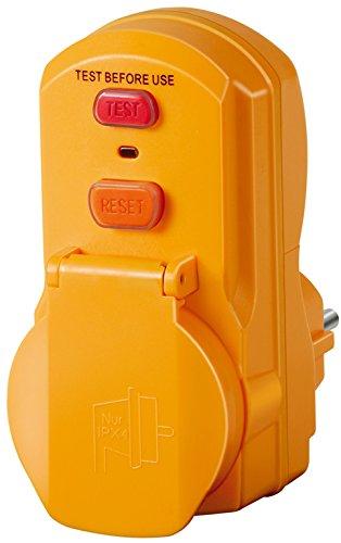 Brennenstuhl Personenschutz-Adapter BDI-A 30 IP54, 1290630 Ge-kabel F-stecker