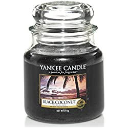 Yankee Candle 1254004E Black Coconut mittleres Jar
