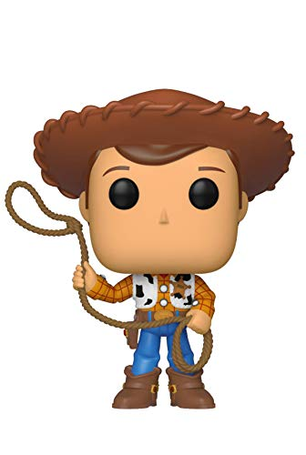 Funko- Pop Vinilo: Disney: Toy Story 4: Woody Figura Coleccionable, (37383)