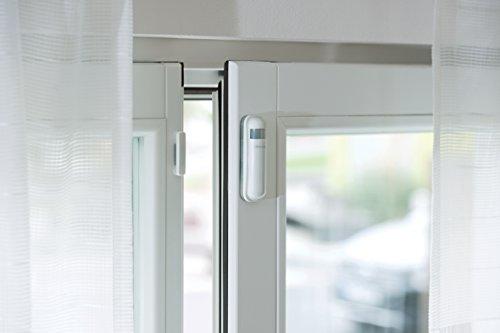 devolo Home Control Türkontakt/Fensterkontakt (Z-Wave Hausautomation, Haussteuerung per iOS/Android App, Smart Home Sensor, Funk Magnetkontakte) weiß - 3