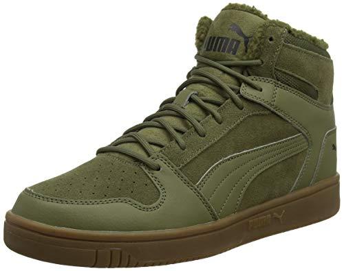 Puma Unisex-Erwachsene Rebound Layup Sd Fur Sneaker, (Burnt Olive-Puma Black-Gum 03), 48.5 EU