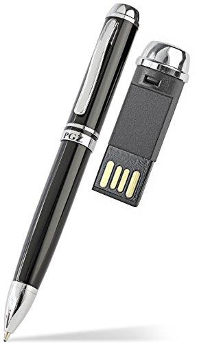 Premium USB Kugelschreiber 4GB Schwarz - Premium-4 Gb-usb