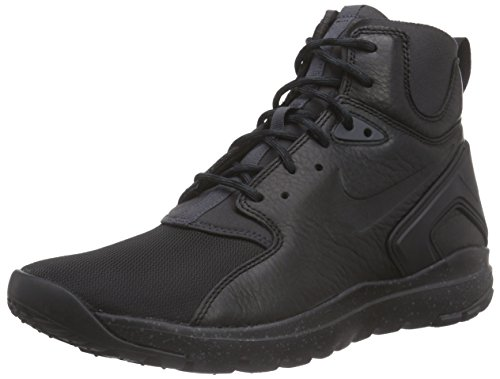 Nike Herren Mobb Ultra Mid High-Top Schwarz (Black/Black-Anthracite)
