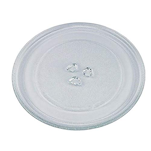 Mikrowellenteller Drehteller Teller Glasteller für Mikrowelle Ofen 27,5 cm 3 Noppen