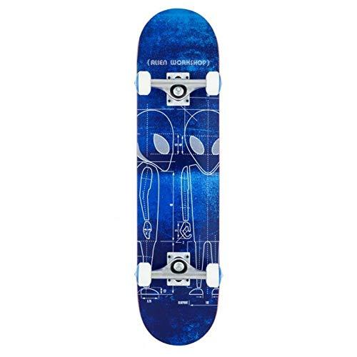 Alien Workshop Blueprint 7.625'' Skateboard