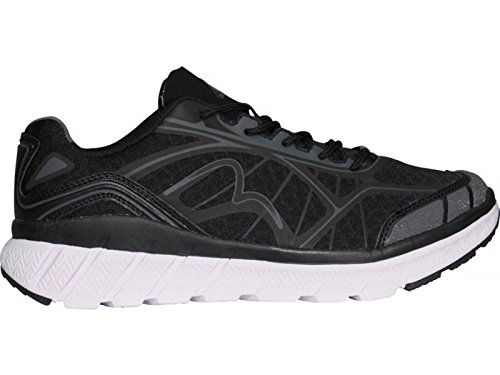 More Mile R66 Mens Running Shoes – Black-9.5
