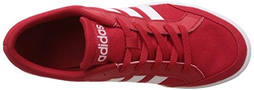 adidas Vs Set, Sneaker a Collo Basso Uomo Rosso (Escarl/Ftwbla/Ftwbla)