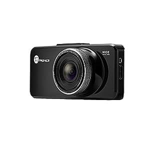 """Caméra de voiture caméra embarquée DASHCAM Enregistreurs de conduite LCD couleur 2,7 """" Full HD de 1080p avec caméscope numérique à caisson noir (enregistrement en boucle, capteur-G, détecteur de mouvement, excellent éclairage à faible luminosité, carte TF 32G OFFERT) TaoTronics"""