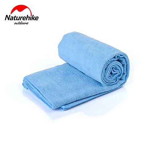 Naturehike Antibakteriell Schnelles Badetuch Reise Waschhandtuch Bath Towel Lightblue