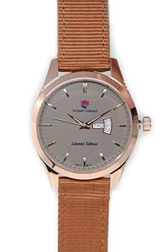 JACQUES COSTAUD * CHAMPS ELYSEES * Rose Gold JC-C3RGGM05 Men's Watch