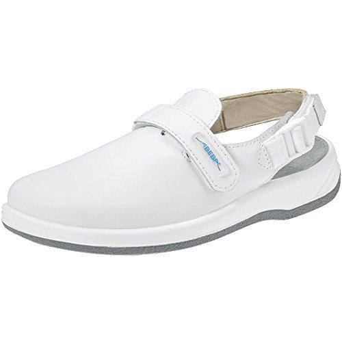Abeba 8400-36 Arrow Chaussures sabot Taille 36 Blanc